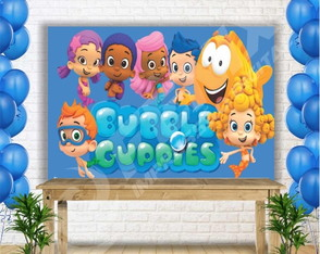 Painel Sublimado Bubble Guppies 200x140 cm