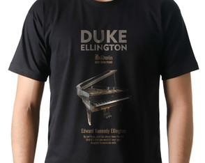 Camiseta Camisa Música Jazz Duke Ellington Piano Baldwin