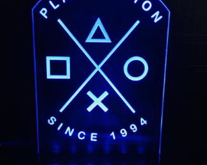 Luminária Gamer: Playstation