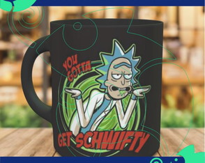 Caneca Rick and Morty