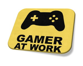 Mouse pad Gamer at Work Personalizado