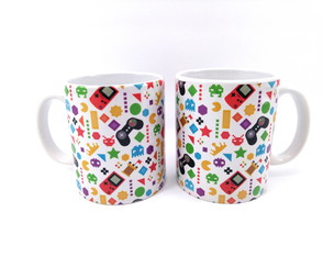 Caneca aniversario video game