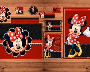 Kit escolar Minnie