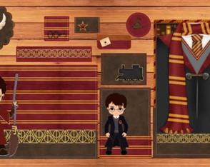 Kit escolar Harry Potter