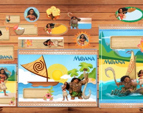 Kit escolar Moana