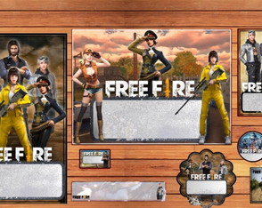Kit escolar FREE FIRE