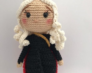 Daenerys Game of Thrones - Amigurumi