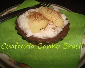 Tortinha de banana!