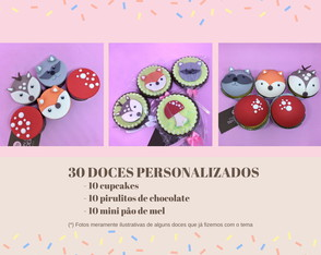 Kit Doce Festa | Floresta | Bosque Encantado