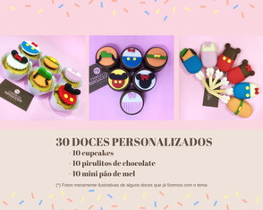 Kit Doce Festa | Festa Disney | Mickey | Minnie