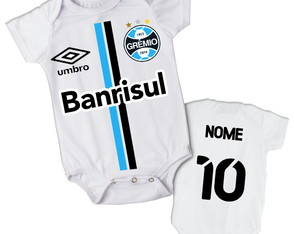 Body do Gremio Personalizado Para Bebe