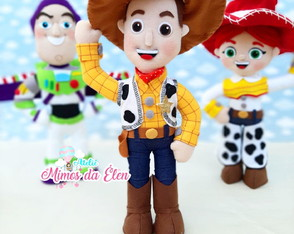Kit de personagens toy story