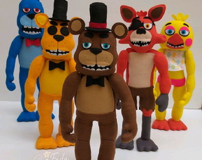 Apostila digital Animatronics - Five Nights em feltro