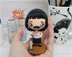 Toy kawaii Freddie Mercury - I Want to Break Free