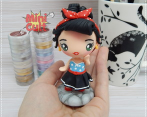 Toy kawaii Pin Up Girl