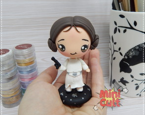Toy kawaii Princesa Leia - Star Wars