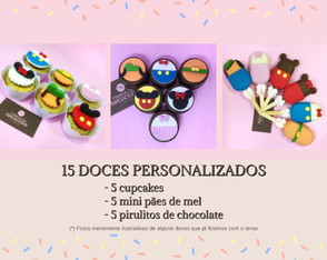 Mini Kit Doce Festa | Disney