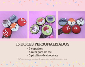 Mini Kit Doce Festa | Bosque | Floresta Encantada
