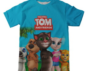 Camiseta Talking Tom and Friends
