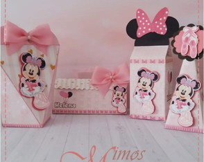 Kit Personalizados Minnie Bailarina