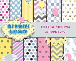KIT DIGITAL TEMA ELEFANTE