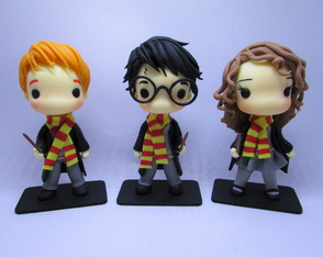 Trio Harry Potter Toy Arts Biscuit
