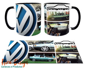 Estampa / Arte Digital para Caneca Voyage VW