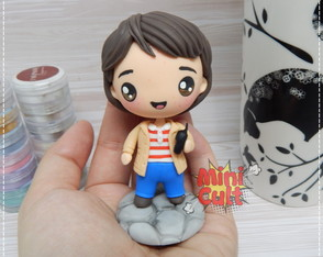 Toy kawaii Mike - Stranger Things