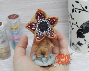 Toy kawaii Demogorgon - Stranger Things