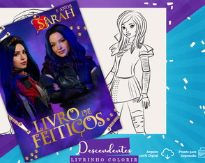 Livro de Colorir Digital: Descendentes 3