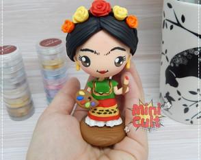 Toy kawaii Frida Kahlo Pintora