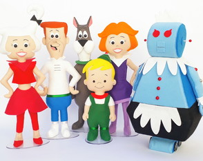 Kit Jetsons 6 personagens