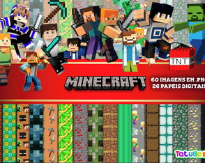 Kit Digital MINECRAFT #01