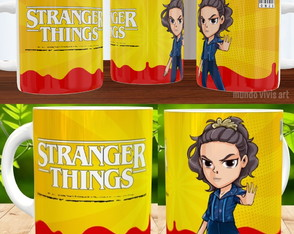 CANECA -STRANGER THINGS