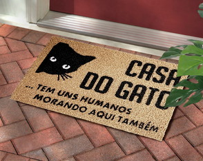 Capacho Casa do Gato