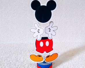 Tubetes luxo - Mickey