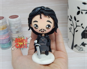 Toy kawaii Jon Snow - Game of Thrones