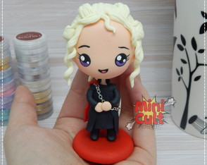 Toy kawaii Daenerys Targaryen - Game of Thrones