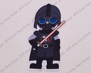 Aplique com 6 cm - Star wars