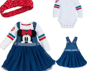 Kit Vestido Da Minnie Disney Store Original