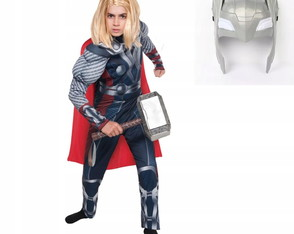 Thor Personagem Fantasia Infantil Menino Marvel Original