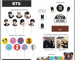 KIT DIGITAL PERSONALIZADO BTS