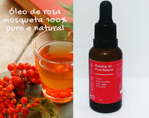 Oleo De Rosa Mosqueta Puro 100% Natural 30ml