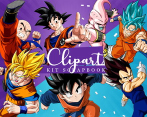 Kit Scrapbook: Cliparts Dragon Ball