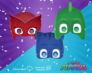 Mascaras Digitais: PJ Mask