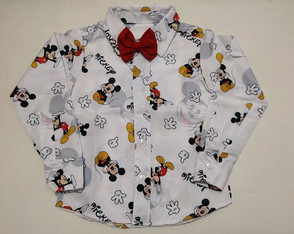 Camisa manga longa do Mickey Pronta entrega