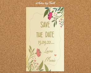 Save the Date Bella