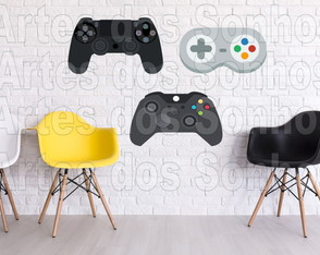 Placas Decorativas - Video Game