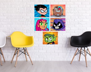 Placas Decorativas - Titans