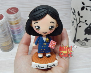 Toy kawaii Anne Frank